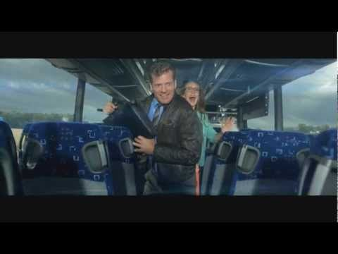 """Epic Bus Ad from Denmark (English Subtitles - HTML5)  Midttrafik - """"The Bus"""""""