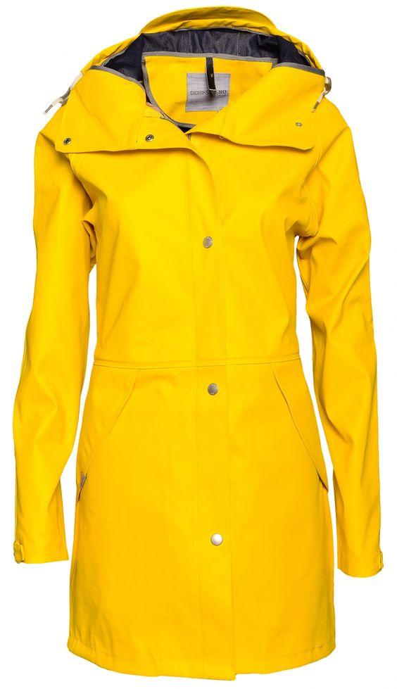 didriksons hedvig gelb damen regenmantel friesennerz. Black Bedroom Furniture Sets. Home Design Ideas