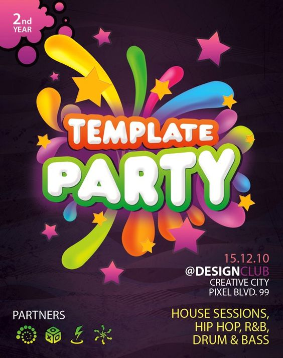 Final Exam Party Flyer Freebie The best - and free) - way to - bowling flyer template free