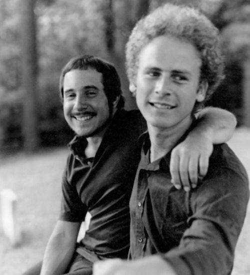 Paul Simon & Art Garfunkel in happier days