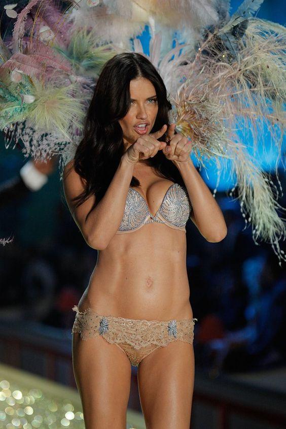 Pin for Later: These Are Adriana Lima's Sexiest Victoria's Secret Moments