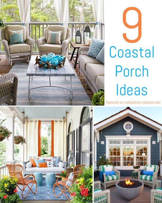 9 Coastal Summer Porch Decor Ideas With Images Summer Porch