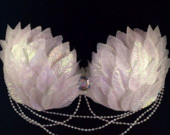 White Wonderland Eve Rave Bra