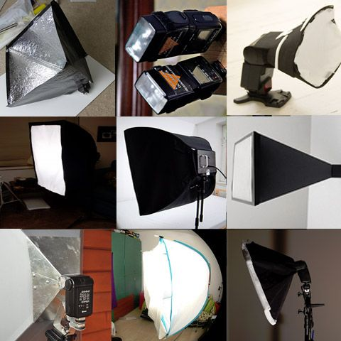 24 DIY Softboxes - Photography