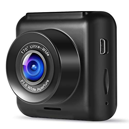 Mini WiFi Car Dash Cam FHD 1080P GPS Camera Dashboard W// G-Sensor Night Vision