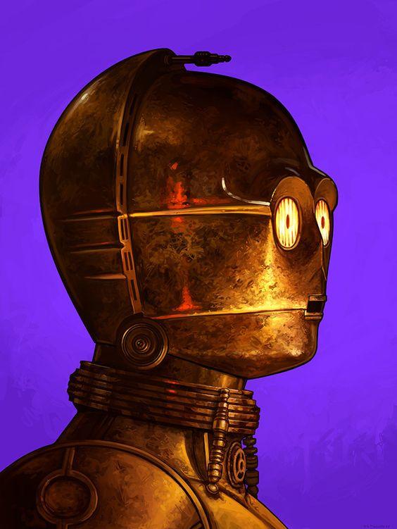 C-3PO by Mike Mitchell – Mondo