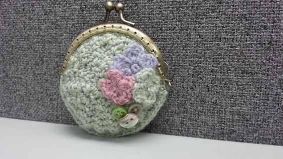 Crochet Coin Purse by byrubyru.deviantart.com on @deviantART
