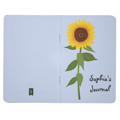 Sunflower Journal Journals