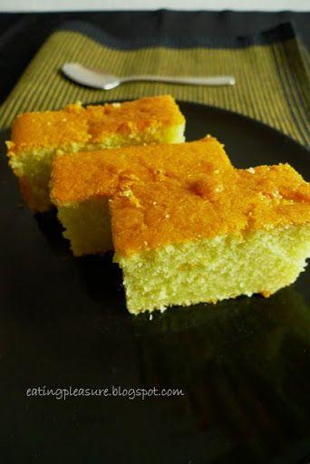 Little Inbox Recipe ~Eating Pleasure~: Pandan Butter Cake