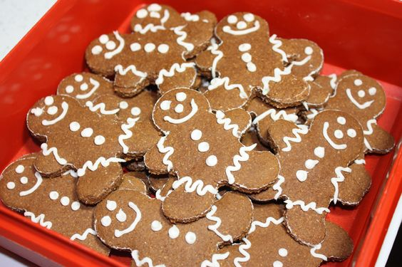 These healthy gingerbread cut out cookies are gluten free, could be dairy free. Taste very close to traditional gingerbread, but are low in sugar and fat.