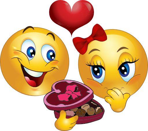 love is a box of chocolates gl cklich smileys und liebe ist. Black Bedroom Furniture Sets. Home Design Ideas
