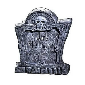 Nightmare Before Christmas Tombstone - Disguise - Nightmare Before Christmas - Costumes at Entertainment Earth Item Archive