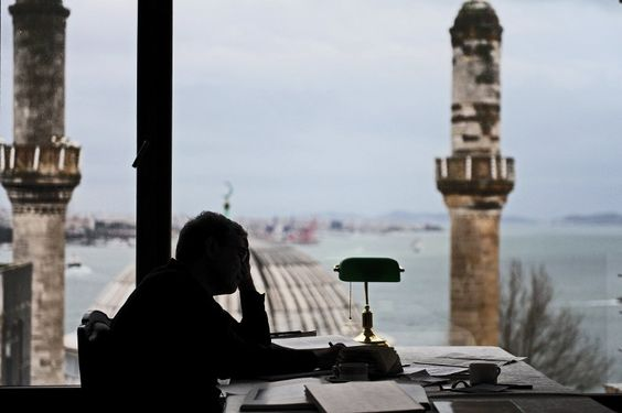 Turkey's Nobel winner anxiously observes his changing home, Istanbul