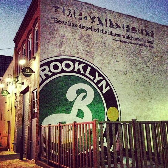 Brooklyn Brewery in Brooklyn, NY Small tours only, bookable online.  http://brooklynbrewery.com/visit/visiting-the-brooklyn-brewery #1 Brewers Row 79 N 11th St Brooklyn, NY 11249