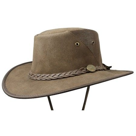 Barmah 1021be Squashy Suede Cooler - Brown