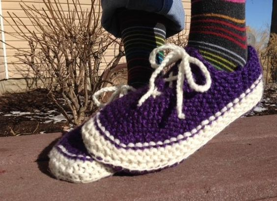 Looking for your next project? You're going to love Wannabe Vans Slippers for Men by designer Kriskrafter. - via @Craftsy