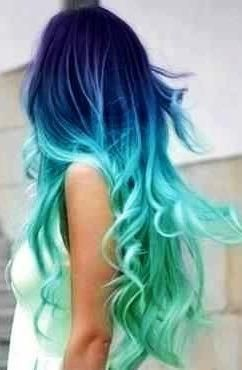 awesome hair | Awesome hair color | Multi-color Hair