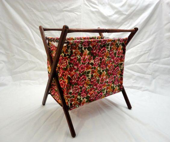 Vintage Folding Knitting Basket : Pinterest the world s catalog of ideas