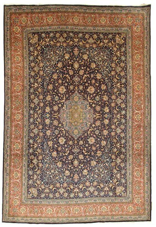 Sarug Handgeknüpft orientalisch Teppich Perser 406 x 298 orient matto Rugs