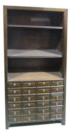 J164 - 24 Drawer Medicine Cabinet