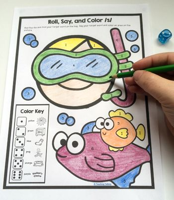 Print and go articulation speech therapy activities