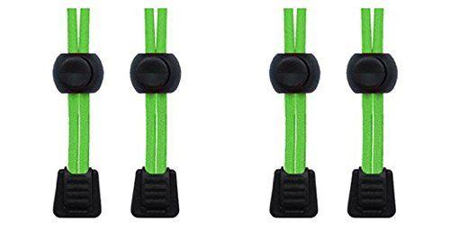 Packung elastische Schnürsenkel mit Schnellverschluss, für Laufen/Triathlon 2 SETS NEON GREEN - http://on-line-kaufen.de/neo-15/2-sets-neon-green-packung-elastische-mit-fuer