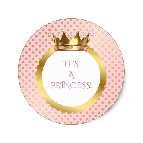 CraftBoutique Prince Gold Crown Blue Confetti Prince Baby Shower Birthday Par...