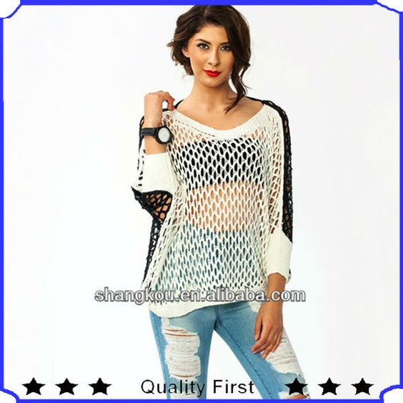sexy sweatwr women | Home > Product Categories > Chiffon Blouse and Top > fashion designer ...