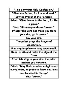 sacrament of reconciliation guide Archdiocese of regina liturgy commission/2013 1 a guide for the sacrament of reconciliation sin in my life as a follower of christ, i must make an effort to recognize sin in my daily actions, words and omissions.