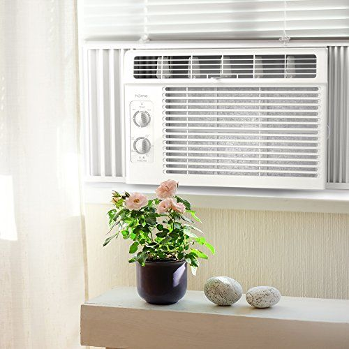 Home 5000 Btu Window Mounted Air Conditioner Compact 7 Speed Window Ac Unit Small Quiet Mechanical Controls 2 Window Ac Unit Window Air Conditioner Ac Units