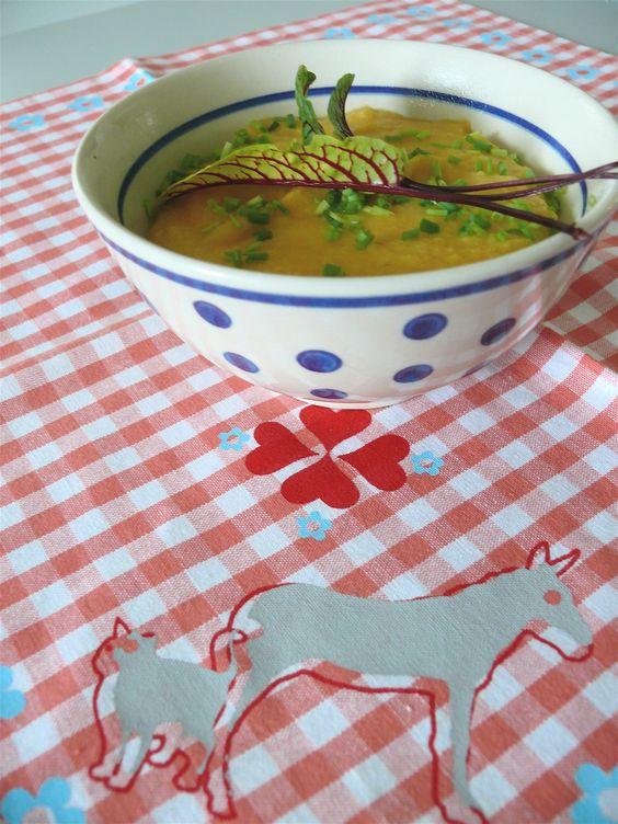 Delicious Parsnip-Kumera-Soup