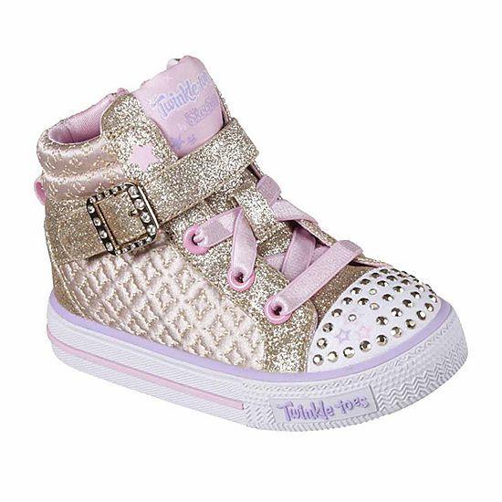 Skechers Twinkle Toes Shuffles Girls