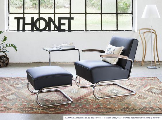 Gärtner Internationale Möbel #Thonet #Sessel #Freischwinger #S411 ...