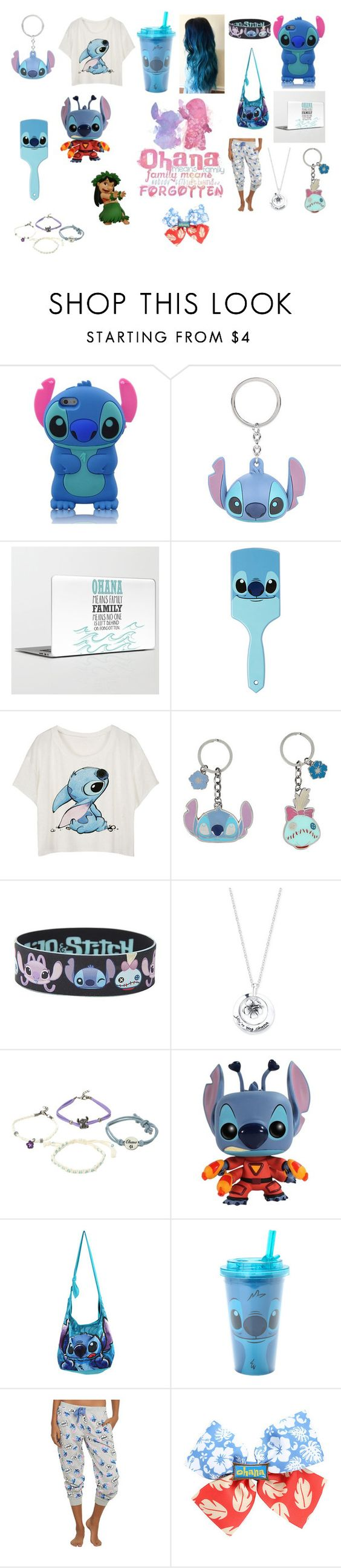 """""""lilo and stitch"""" by sarahbelleb on Polyvore featuring Disney, women's clothing, women, female, woman, misses and juniors"""