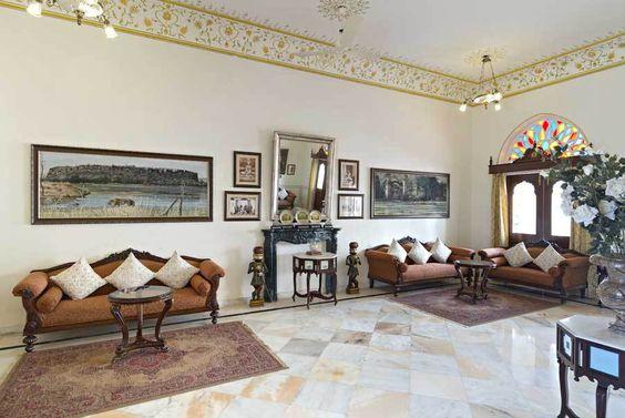 Maharaja Suite at Nahargarh-Ranthambhore #luxuries #lavish #royalHoliday
