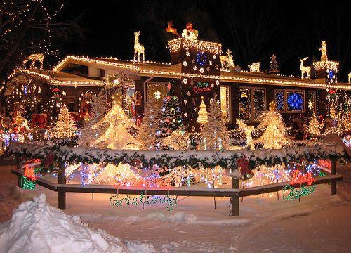 Rockin Around The Christmas Tree Christmas Lights Christmas Scenery Hanging Christmas Lights
