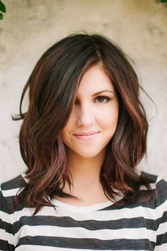 Superb My Hair Love This And Highlights On Pinterest Short Hairstyles Gunalazisus