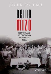 Cover for   Being Mizo