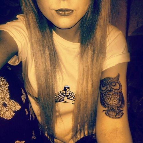 owl tattoo arm google search inkspiration pinterest