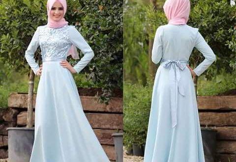فساتين لكتب الكتاب للمحجبات مودرن بالوان شيك ميكساتك Fashion Hijab Fashion Dresses