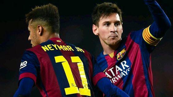 Best Duet! #Messi #Neymar
