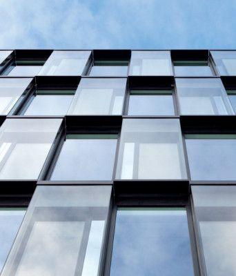 Bürogebäude Haus 1 in München - Fassade - Büro / Verwaltung - baunetzwissen.de