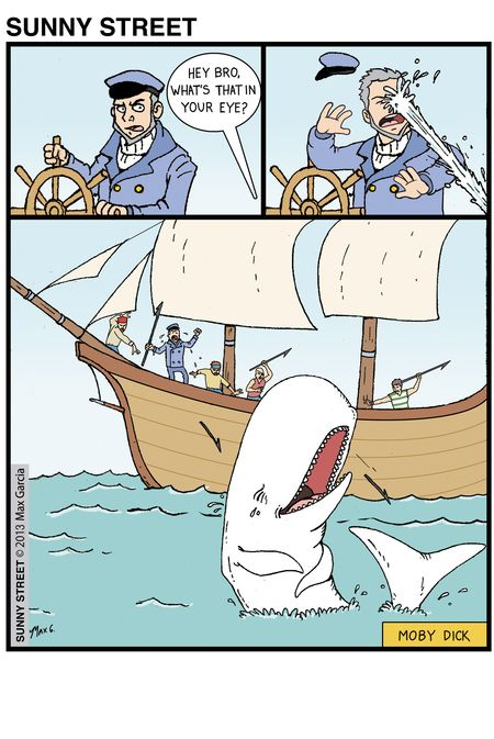 Moby Dick...