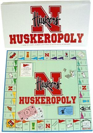 The best Nebraska Huskers game ever...Huskeropoly.
