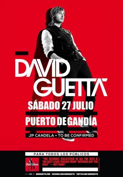 David Guetta en Gandía