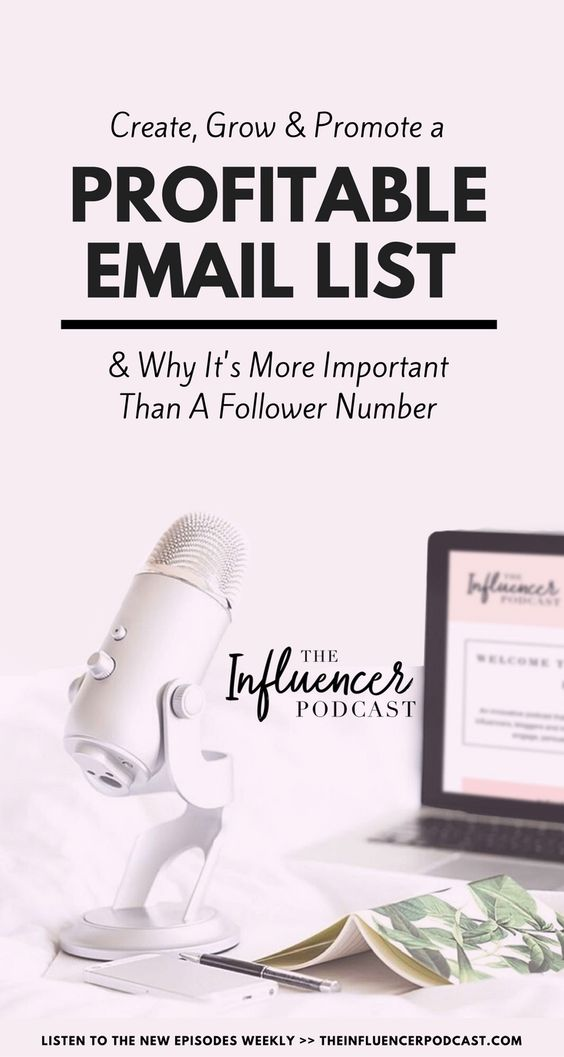 Amazing Podcast Episode where you will learn how to promote your newsletter list! Julie Solomon and Amy Porterfield are talking today about the importance of the email list. Grow your email list, email marketing, newsletters, subscribers. Follow The Influencer Podcast, a Podcast for bloggers.