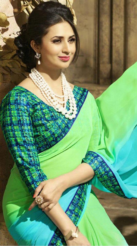 divyanka tripathi bridal saree