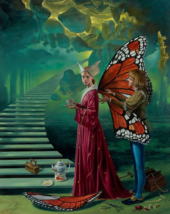 * Michael Cheval - - - Stairway to Heaven