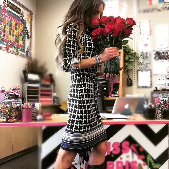 """Two Dozen Roses delivered to school!!!  I am such a lucky girl to have this hottie @mikeostapovich in my life! Love you baby!  #smelltheroses #love #instagood #teacherlife #teachers"" Photo taken by @tiffinylyn on Instagram, pinned via the InstaPin iOS App! http://www.instapinapp.com (02/26/2015)"