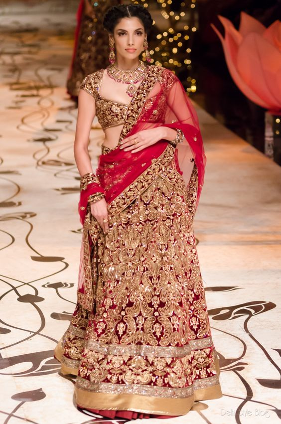 Indian Bridal Wear Choli Designs Collection  Bridel Drees ...